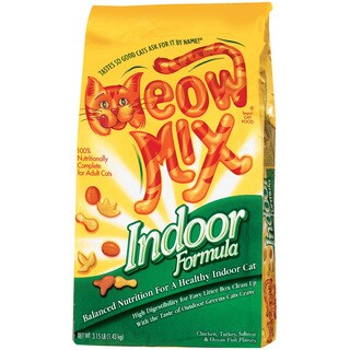 Meow Mix Meow Mix Indoor Formula Dry Cat Food