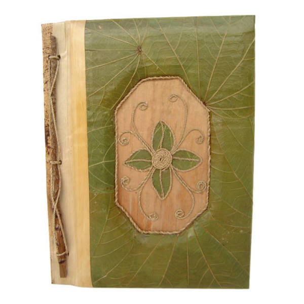 Handmade Flower Lotus Leaves Photo Album (Indonesia)