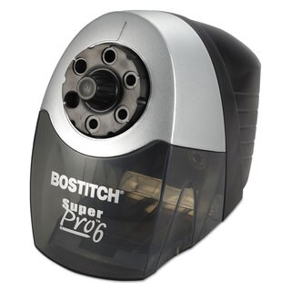 Bostitch Super Pro 6 Commercial Electric Pencil Sharpener Grey/Black