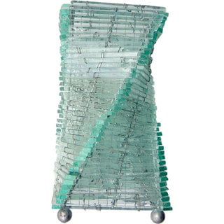 Recycled Glass Mix Twisti Lamp (Indonesia)
