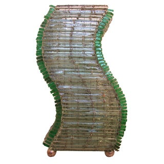 Recycled Glass Natural SX Lamp, Handmade in , Handmade in , Handmade in Indonesia