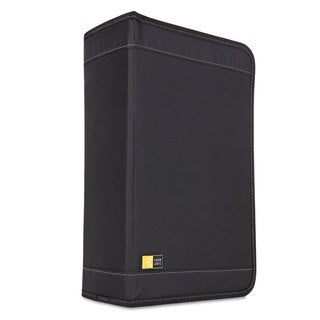 Case Logic CD/DVD Wallet Holds 136 Discs Nylon Black