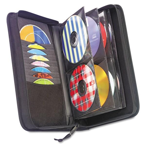 Case Logic CD/DVD Wallet Holds 72 Disks Black
