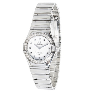 Pre-Owned Omega Stainless Steel Women's Constellation 1465.71 Watch