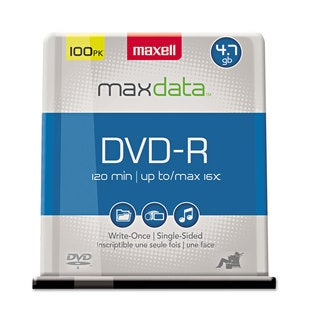 Maxell DVD-R Discs 4.7GB 16x Spindle Gold 100/Pack