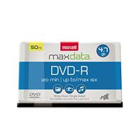 Maxell DVD-R Discs 4.7GB 16x Spindle Gold 50/Pack