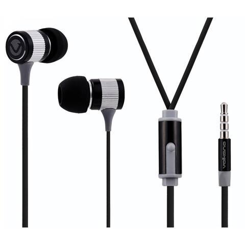 Volkano Metallic Series Earphones (Black)