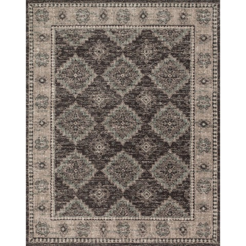 "Traditional Brown/ Taupe Medallion Vintage Classic Rug - 9'3"" x 13'"
