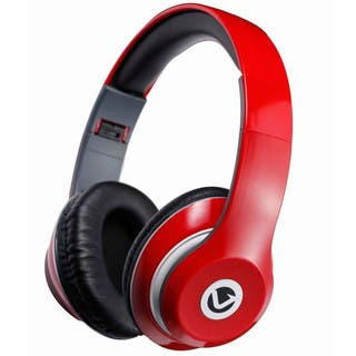Volkano Falcon Series Headphones (Red)|https://ak1.ostkcdn.com/images/products/14064545/P20677493.jpg?impolicy=medium