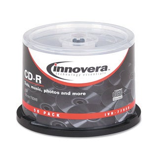 Innovera CD-R Discs 700MB/80min 52x Spindle Silver 50/Pack