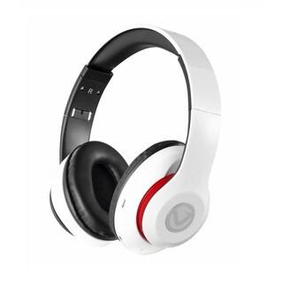 Volkano Impulse Series Over-Ear Multi-Function Bluetooth Headphones (White)