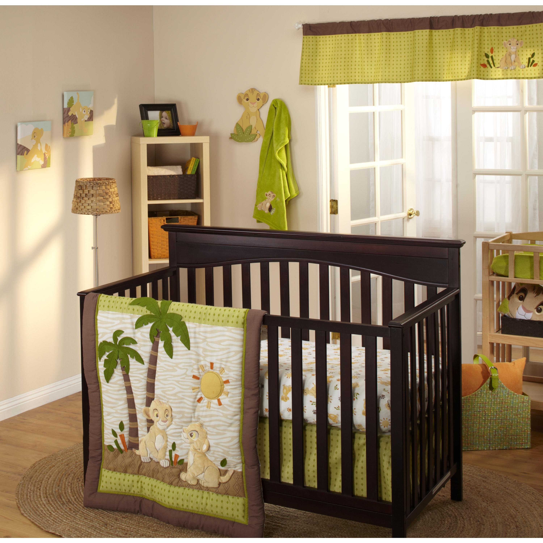 Disney Lion King Wild About You 4-Piece Crib Bedding Set ...