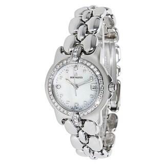 Pre-Owned Bertolucci Women's Steel Pulchra 08341A Diamond Watch