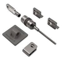 Kensington Desktop and Peripherals Locking Kit 8ft Steel Cable Two Keys