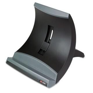 3M Vertical Notebook Computer Riser Cable Management 9 x 3-3/4 x 9-1/2 Black
