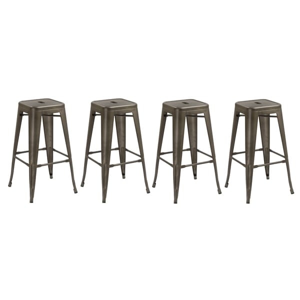 24 inch Industrial Stackable Antique Rustic Counter height  : 24 inch Industrial Stackable Antique Rustic Counter height Metal Bar Stool Set of 4 Barstool bc7c8f45 e757 4867 9085 7c5d6e354884600 from www.overstock.com size 600 x 600 jpeg 15kB