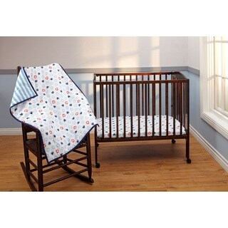 Disney Mickey 3-Piece Porta Crib Set