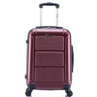 InUSA Pilot Collection 20-inch Lightweight Hardside Carry-on Spinner Suitcase