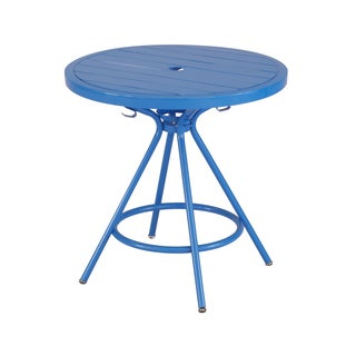 Safco CoGo Metal Indoor/Outdoor 30-inch Round Table