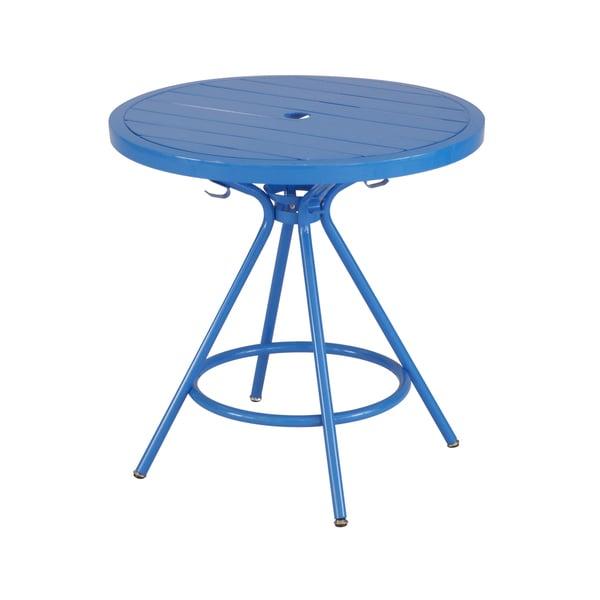 Safco CoGo Metal Indoor/Outdoor 30-inch Round Table