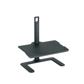 Safco Black Adjustable Footrest