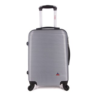 InUSA Royal Collection 26-inch Lightweight Hardside Spinner Suitcase (Option: Silver)