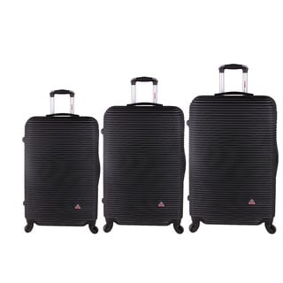 InUSA Royal Collection 3-piece Lightweight Hardside Spinner Luggage Set