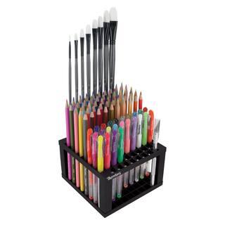 Thornton's Art Supply Grid Plastic 96 Capacity Marker Art Brush Storage Stand Holder|https://ak1.ostkcdn.com/images/products/14064831/P20677761.jpg?impolicy=medium
