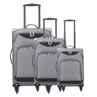 InUSA Light-FI Collection 3-piece Ultra-Light Spinner Luggage Set