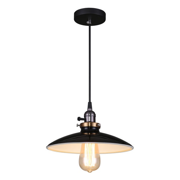 Journee Home X27 Samson 10 In Hard Wired Gl Pendant