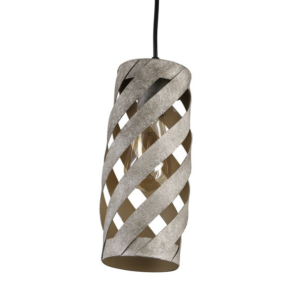Journee Home 'Ivar' 11 in Iron Hard Wired Iron Pendant Light