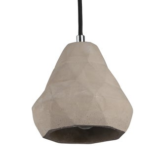 Journee Home 'Chand' 7 in Cement Hard Wired Loft Pendant Light