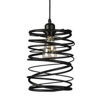 Journee Home 'Dritan' 12 in Iron Hard Wired Pendant Light With Included Edison Bulb