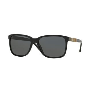 Burberry Unisex's BE 4181 3001/87 - Black/Grey Sunglasses