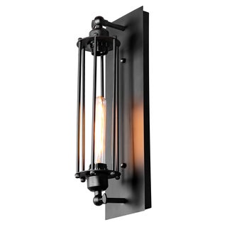 Journee Home 'Gotham' 19 in Iron Hard Wired Wall Sconce With Included Edison Bulb