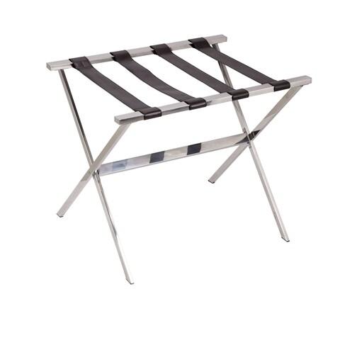 Household Essentials Stainless Steel Luggage Rack