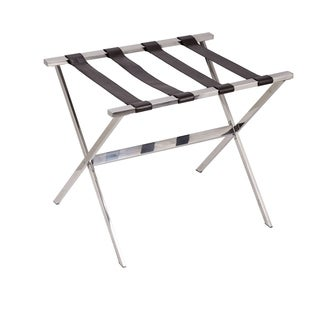 Household Essentials Stainless Steel Luggage Rack
