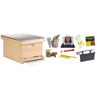 Little Giant Farm & Ag 10-Frame Beginner Hive Kit
