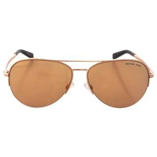 Michael Kors Women's MK1001 Gramercy Rose Gold Sunglasses