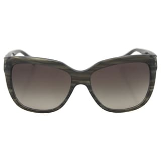 Emporio Armani Women's AR 8042 5291/8E - Striped Green Sunglasses