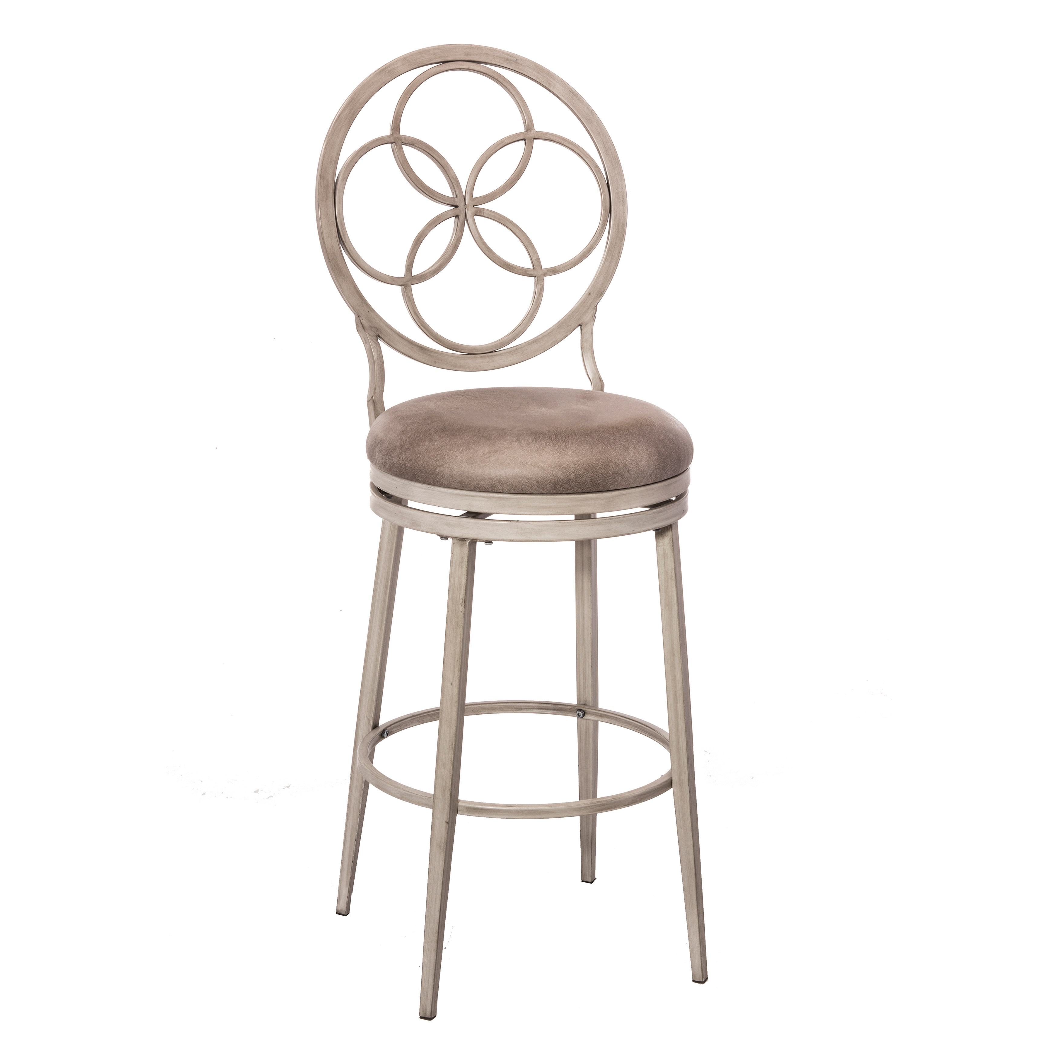 Magnificent Hillsdale Furniture Donnelly Swivel Bar Stool Weathered Grey With Granite Fabric Inzonedesignstudio Interior Chair Design Inzonedesignstudiocom