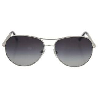 Burberry BE 3082 1005/8G Unisex Silver Frame Grey Lens Sunglasses