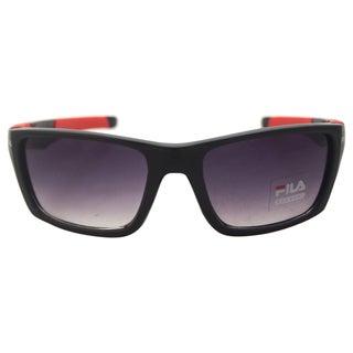 Fila Men's SF 700 C1 - Shiny Red/Black Sunglasses
