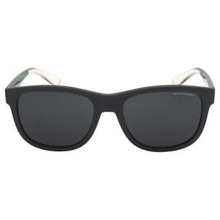 Armani Exchange Men's AX 4054S 819587 - Matte Olive Sunglasses