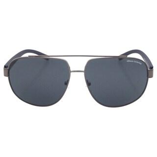 Armani Exchange Men's AX 2019S 6087/87 - Gunmetal/Grey Sunglasses