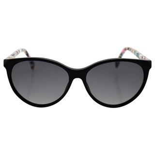 Fendi Women's FF 0170/S TTYVK - Black Multicolor/Gradient Grey Sunglasses