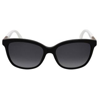Fendi Women's FF 0054/S 7TXHD - Black Penguin White Sunglasses
