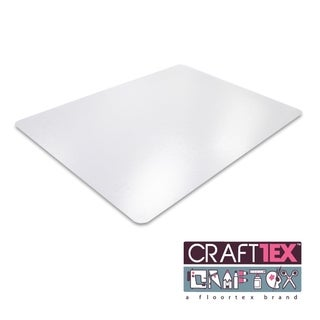 "CraftTex Ultimate Craft Table Protector Mat Super-Strong Clear Polycarbonate Size 20"" x 36"""