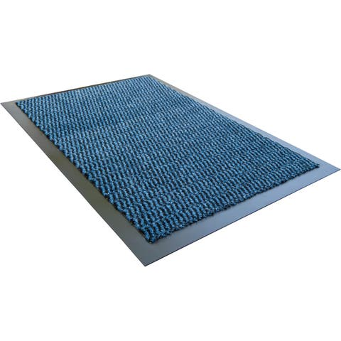 "Doortex Advantagemat Indoor Entrance Mat Blue Rectangular Size 32"" x 48"" - 2'8"" x 4'"