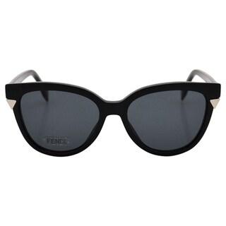 Fendi Women's FF 0125/S D28BN - Shiny Black Sunglasses